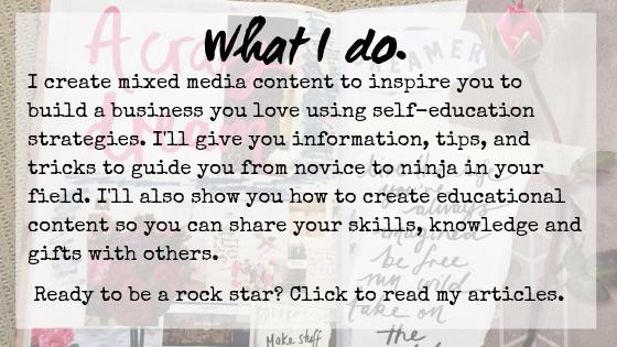 Lynda Cahill - self-education
