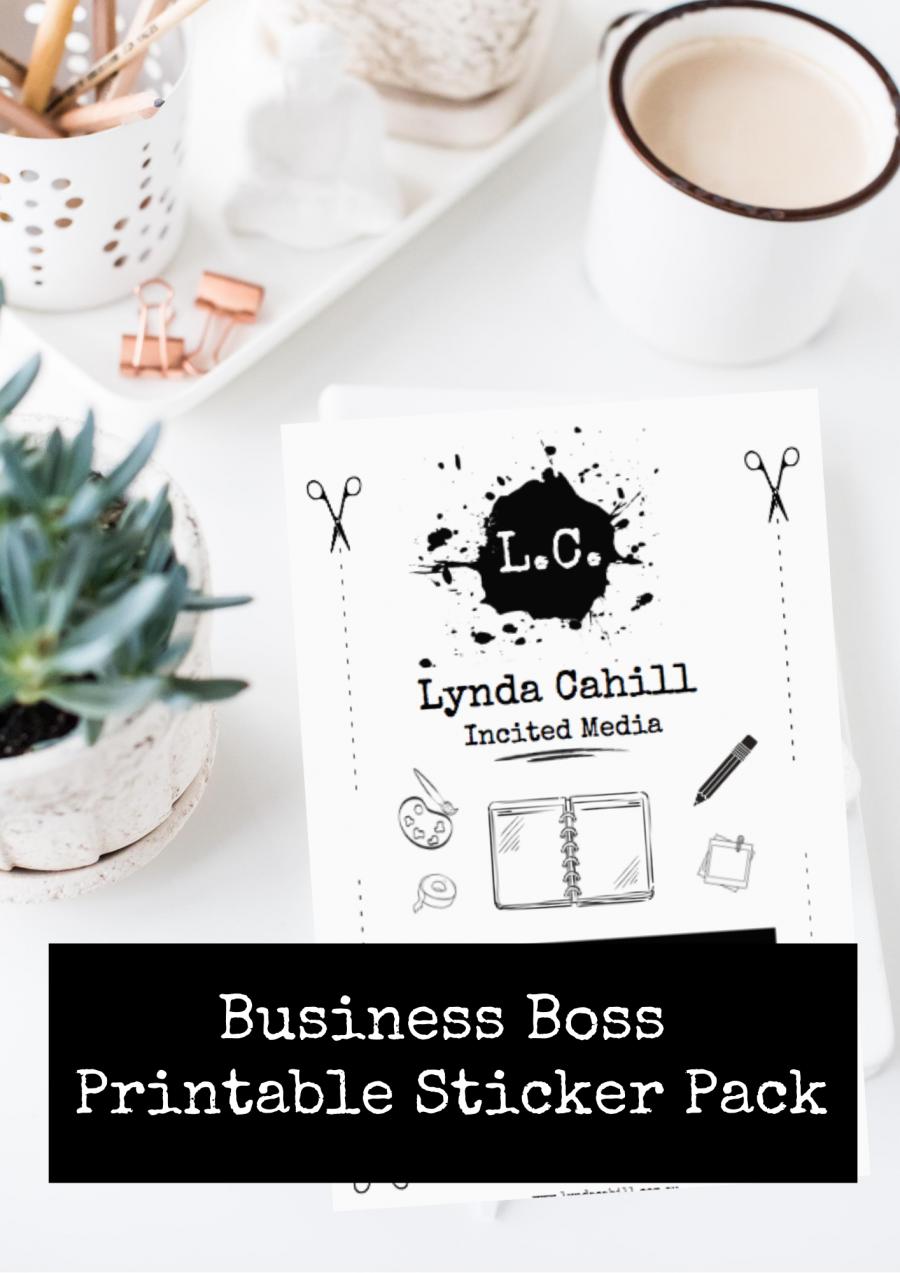Business Boss Sticker Pack