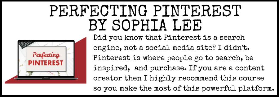 Perfecting Pinterest By Sophia Lee
